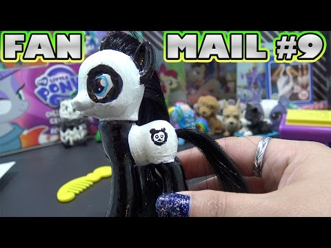SNAIL MAIL SATURDAY #9 Opening Fan Mail || Custom Panda Pony