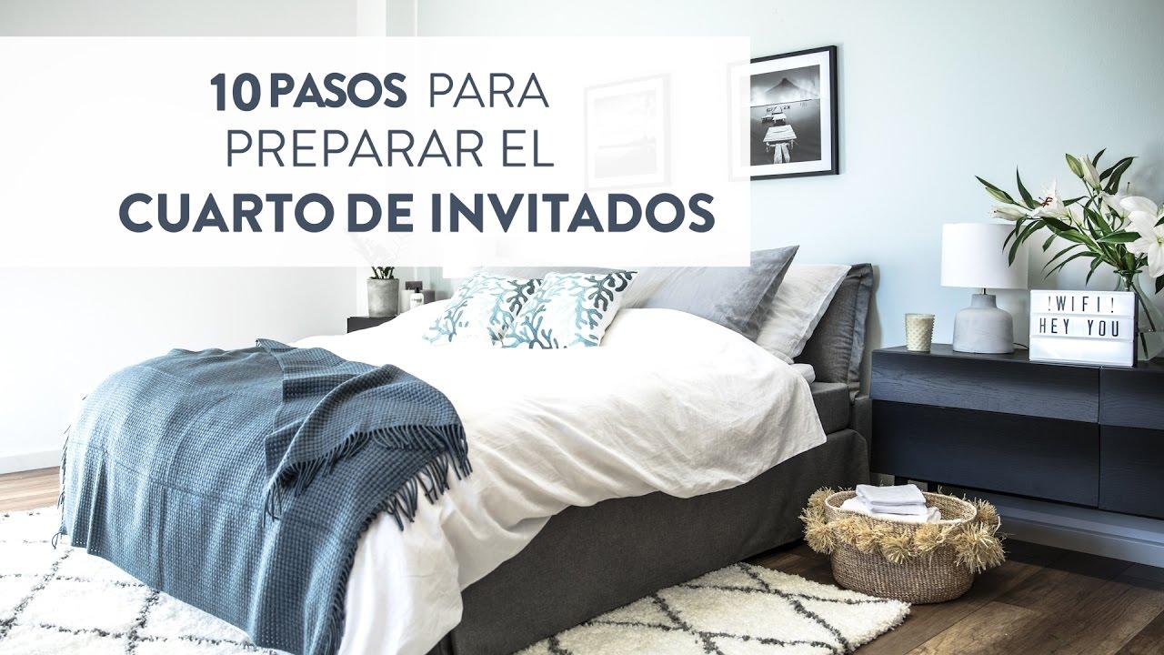 10 pasos para preparar el cuarto de invitados | Decorar con Westwing