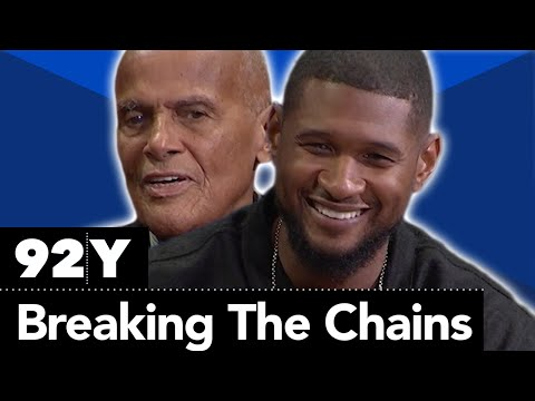 """Usher Raymond IV and Harry Belafonte with Soledad O'Brien: """"Breaking the Chains"""" of Social Injustice"""