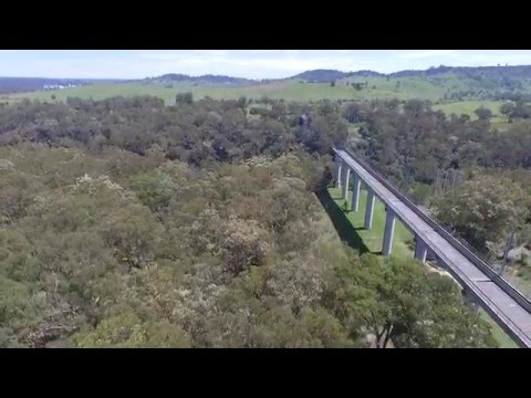 drone maldon nsw bridge to nowhere near railway picton wilton