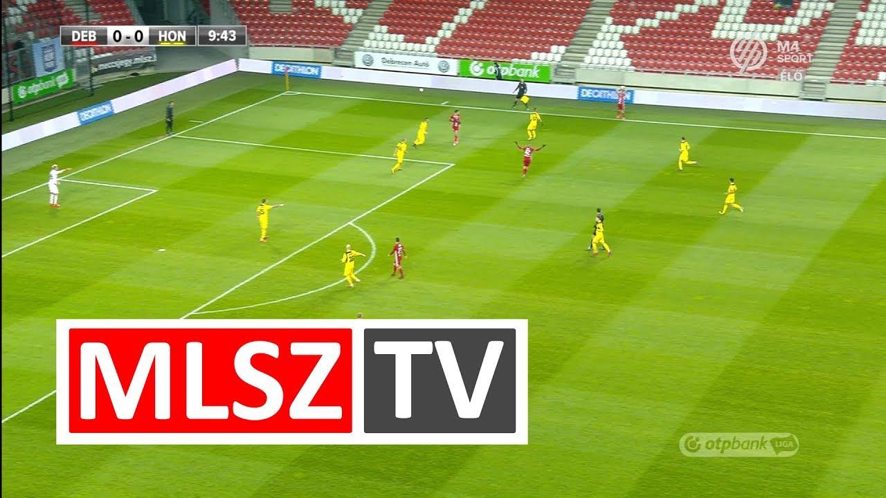 DVSC - Budapest Honvéd | 1-0 | OTP Bank Liga | 18. forduló | MLSZTV