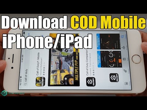 How To Download Call Of Duty Mobile (COD Mobile) IOS IPhone / IPad 2019