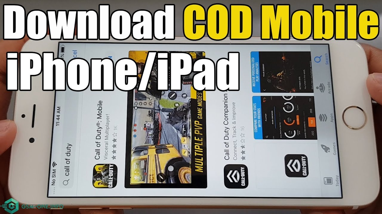 How To Download Call Of Duty Mobile Cod Mobile Ios Iphone Ipad 2019
