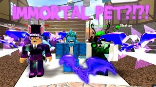 USING : IMMORTAL PET IN ROBLOX MMX! (INSANE)