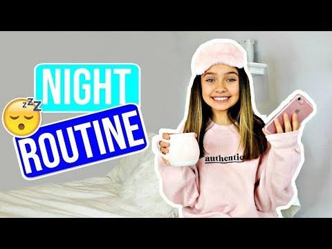 NIGHT ROUTINE 😴 🦉| 🏫 School Edition