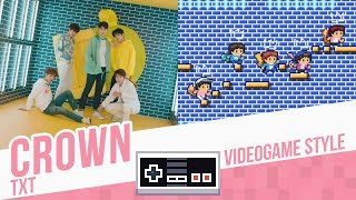 CROWN, TXT - Videogame Style