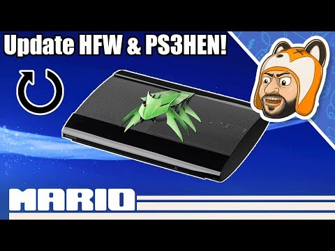 How To Update HFW & PS3HEN For Firmware 4.86