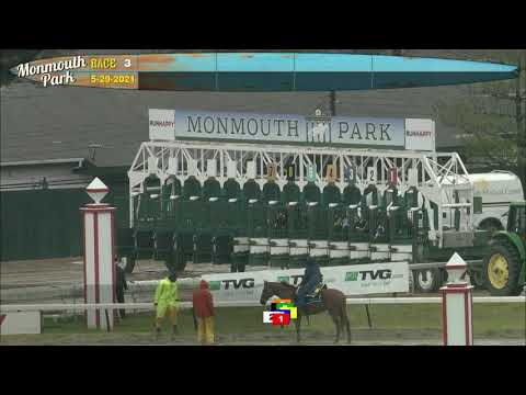 video thumbnail for MONMOUTH PARK 5-29-21 RACE 3