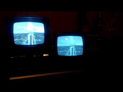 Using two B/W TV s on a VCR