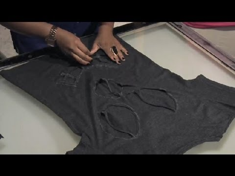 Fabelhaft DIY Punk T-Shirt : T-Shirt Styles - YouTube @GI_11