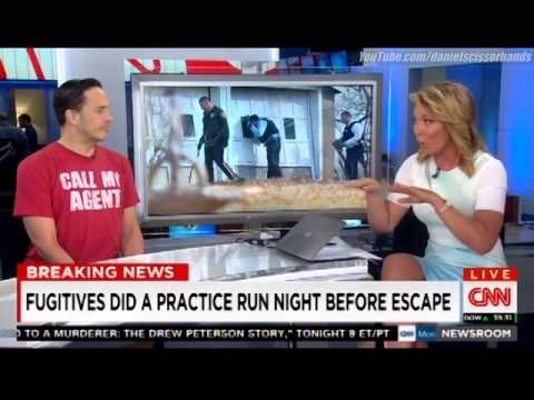"""Party Monster,"" Michael Alig on CNN, commenting on NY prison escape"