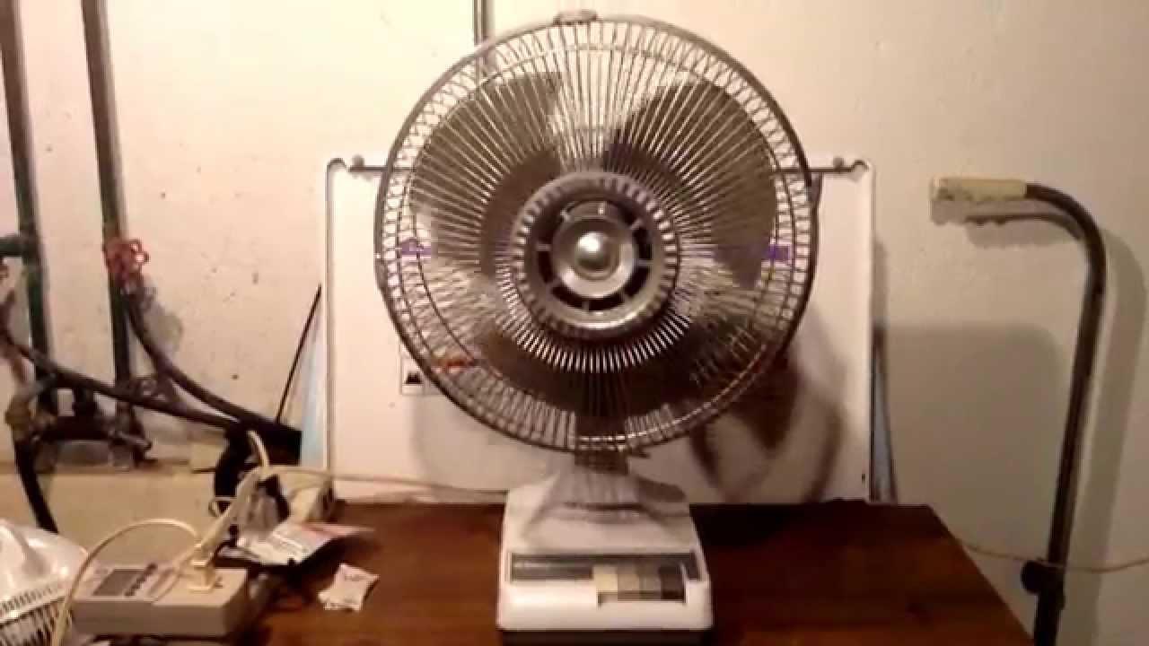 Windmere Table Fan : S windmere quot table fan model df youtube