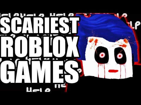 10 SCARY & CREEPY ROBLOX GAMES -(Horror & Creepypasta Story Games)