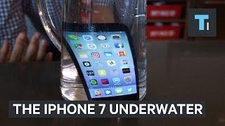بالفيديو.. شاهد كيف يعمل 'آي فون 7' بعد وضعه في المياه ؟