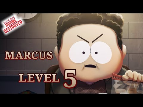 Gameplay Marcus Level 5 | South Park Phone Destroyer |