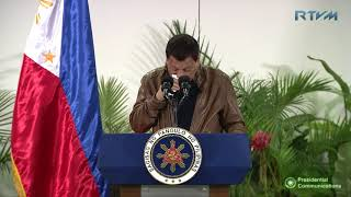 Arrival in Davao City (Speech) 1/26/2018