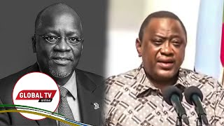 🔴#LIVE: RAIS KENYATTA AMLILIA RAIS MAGUFULI, ATANGAZA SIKU 7 ZA MAOMBOLEZO KENYA -