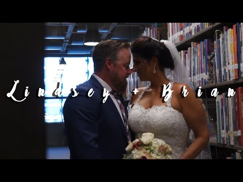 Lindsey & Brian Belchamber Wedding {Central Library} San Diego, CA