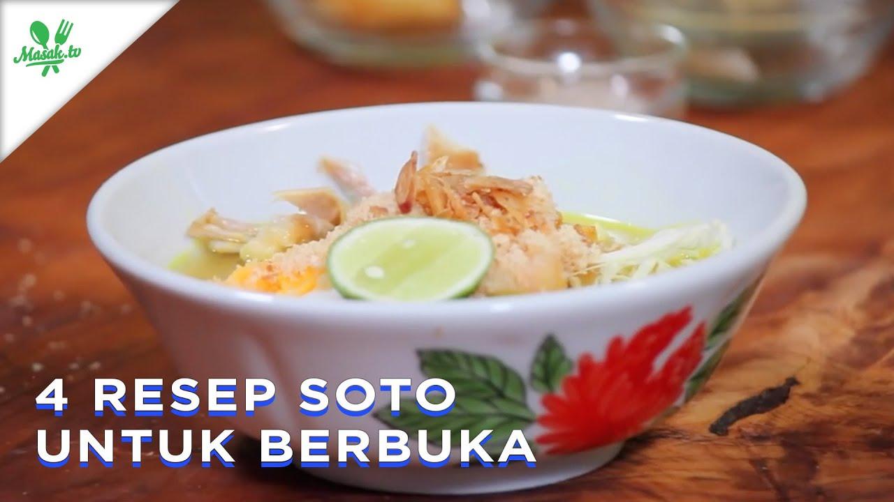 4 Resep Soto Ayam Untuk Berbuka