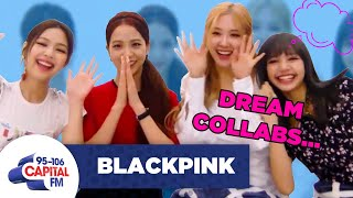BLACKPINK Talk Collaborating With Adele And Rita Ora 🎤 | FULL INTERVIEW | Capital
