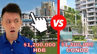 🔥 HDB Vs Condo! Which Would You Rather Choose? 🤔