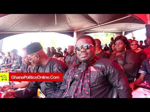 Akufo-Addo, Tourism Minister, Asiedu Nketia, others attend Paapa Yankson's funeral