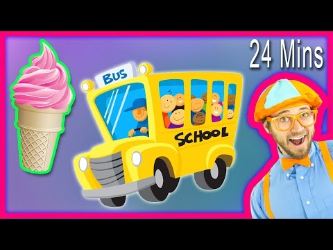 Thumbnail: ABC Song and more Nursery Rhymes from Blippi Kids Songs – Compilation 24 minutes!