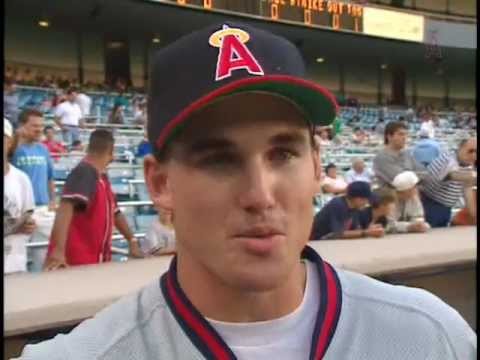 California Angels Tim Salmon interview at Yankee Stadium, before MLB Debut 1992