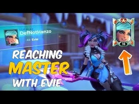 [Paladins] Finally Got Evie to Masters [Full Game]