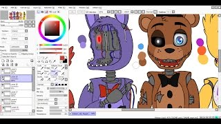 - SpeedPaint Broken, old, forgotten Five Nights at Freddy s 2