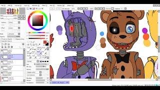 SpeedPaint Broken, old, forgotten Five Nights at Freddy s 2