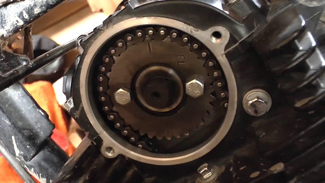 Irbis ТТR 250R Замена цепи ГРМ и регулировка клапанов