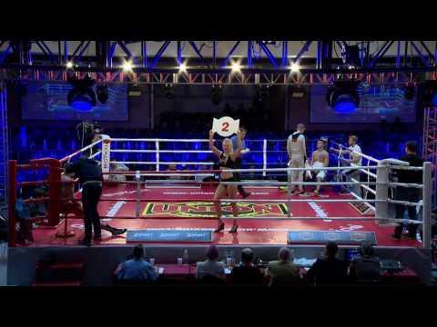 Pro Boxing Show 22/04/2017, Kyiv, UKR. Super Middleweight Petro Ivanov, UKR VS Vol Romanenko, UKR