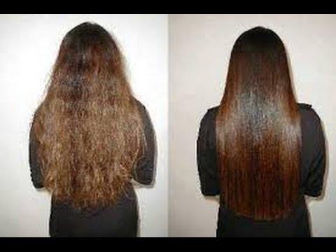 خليط لتنعيم الشعر الخشن والمموج
