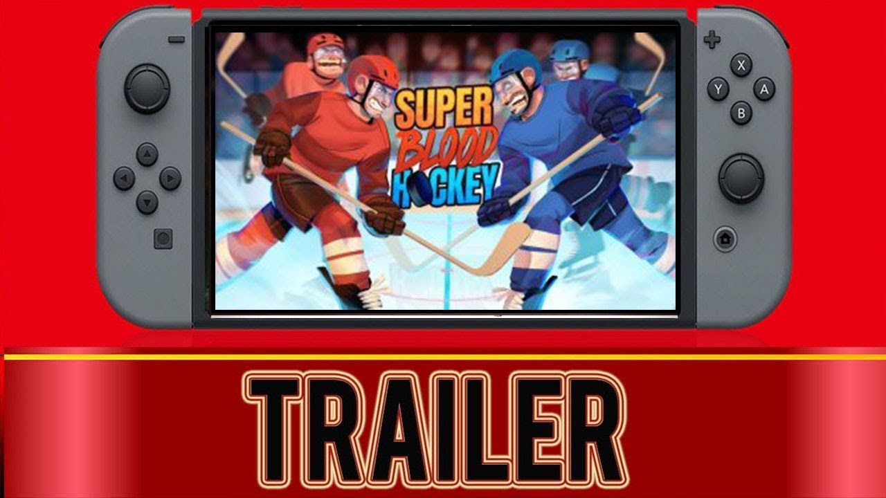 Super Blood Hockey Nintendo Switch Youtube