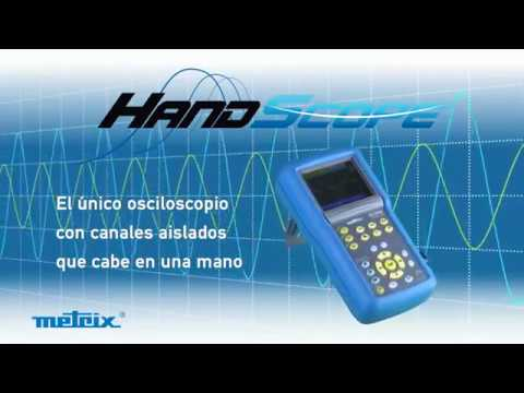 OSCILOSCOPIOS HANDSCOPE DE METRIX