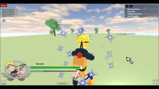 Roblox Naruto shippuden generations best combo attack EVER!