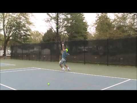 Sergio Araujo Filho - College Tennis Player Recruit Video