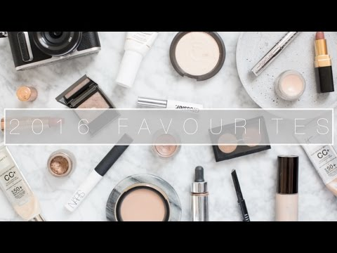 2016 Makeup Favourites & Tutorial | The Anna Edit