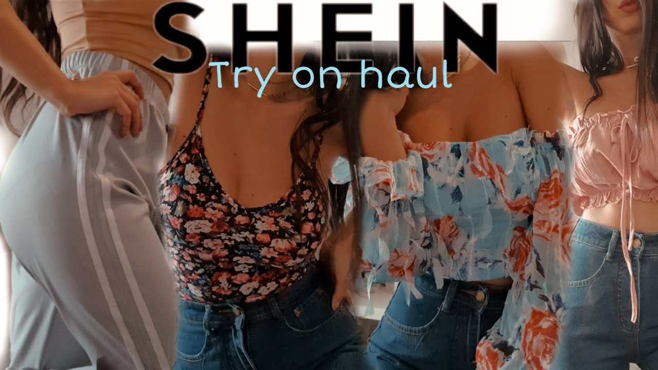 SHEIN TRY ON HAUL - SHOPPING ONLINE LOW COST 🤏 🔝