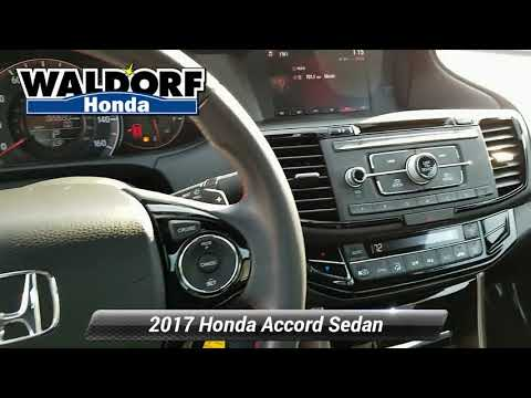 Used 2017 Honda Accord Sedan Sport SE, Waldorf, MD HP1920