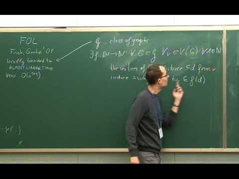 Daniel Kral (Charles University) / Deciding First Order Logic Properties of Matroids / 2011-10-28