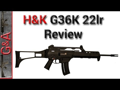 Walther HK G36 K 22lr Review