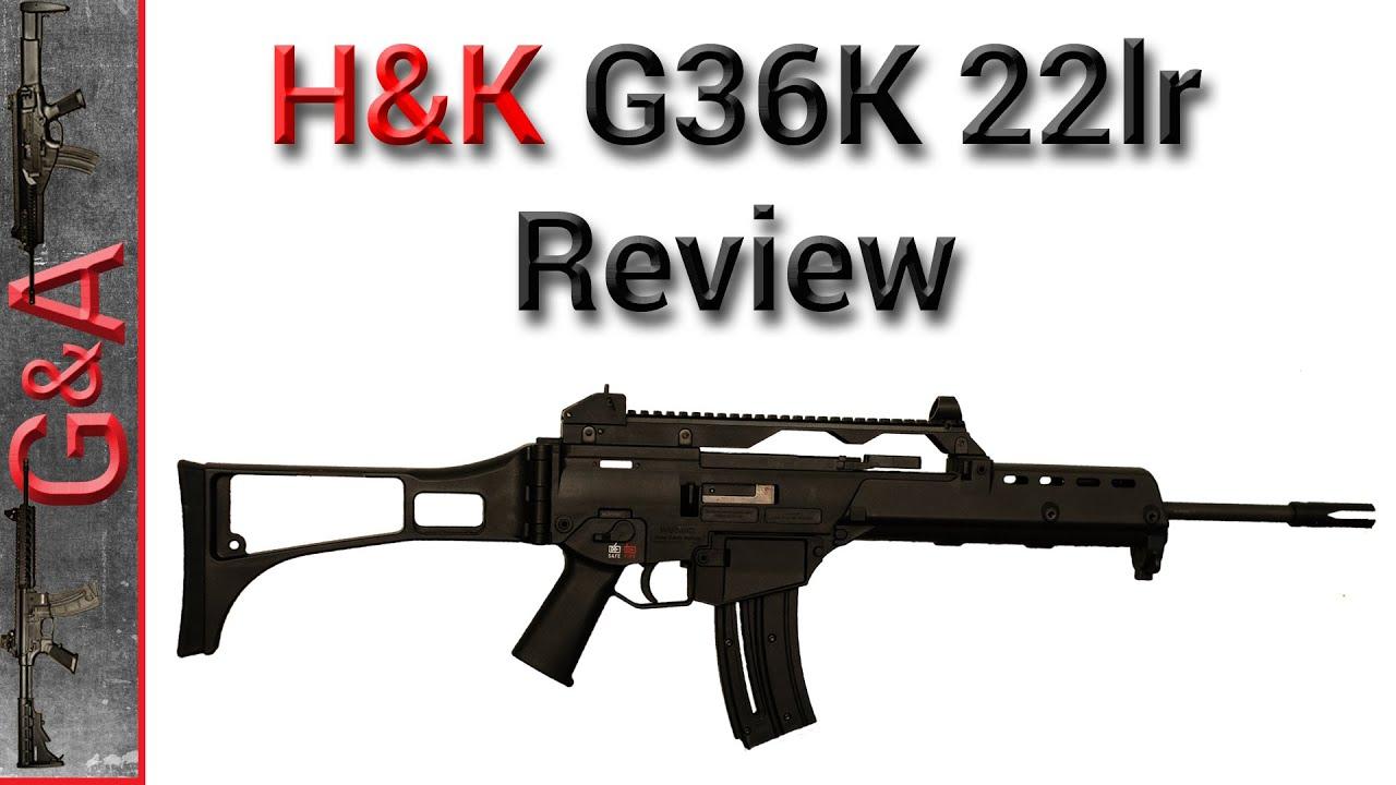Walther Hk G36 K 22lr Review Doovi