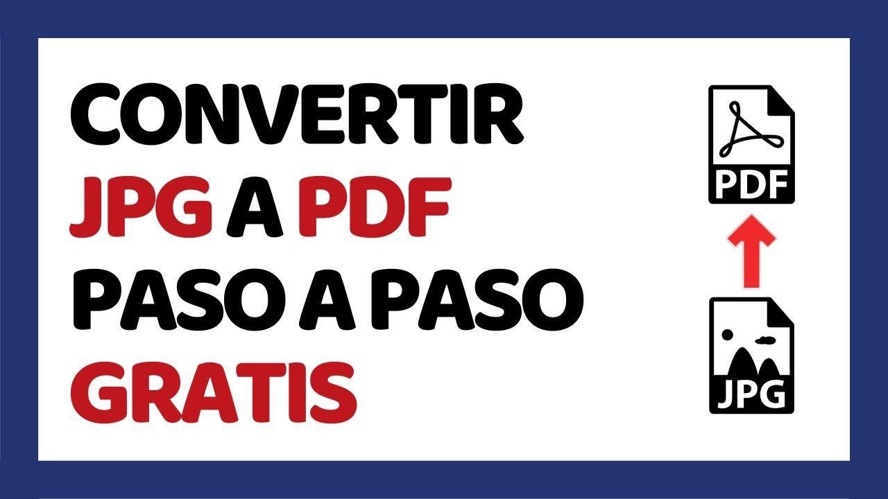 convertir jpg a pdf programa