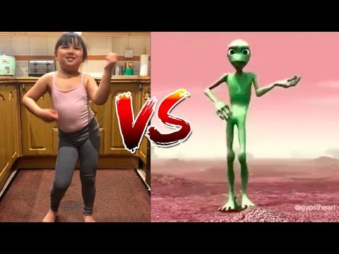 Nepalese Cute Family vs Alien
