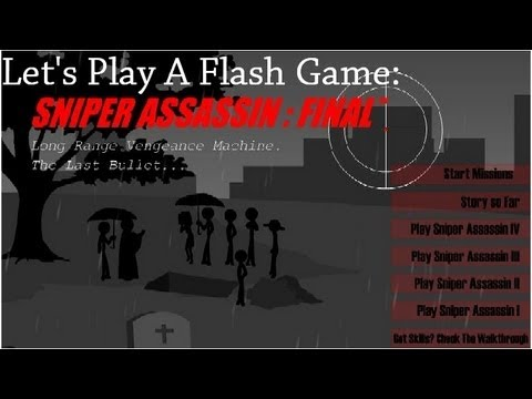 Let's Play A Flash Game | Sniper Assassin 5 | The Ending