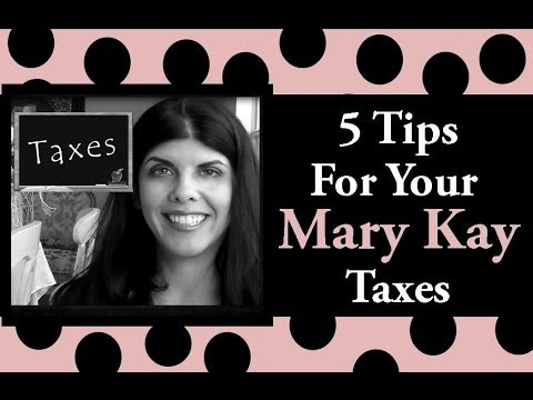 5 tips for your mary kay taxes youtube ccuart Images