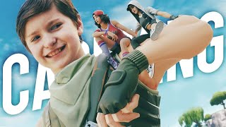 Carrying my Family to a Win in Fortnite!