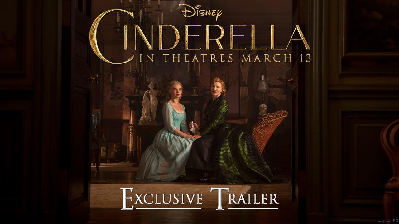 Disney S Cinderella Official Us Trailer 2 Youtube